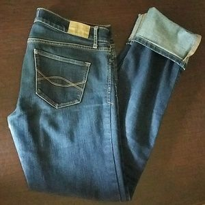 Abercrombie and Fitch denims size 6L